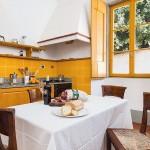 Cappella vacation apartment kitchen